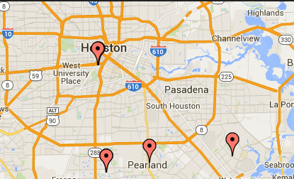 Find Your Location, MSOD Shipra, Pearland TX